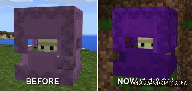 Текстура Shulker Colors 1.1/1.0