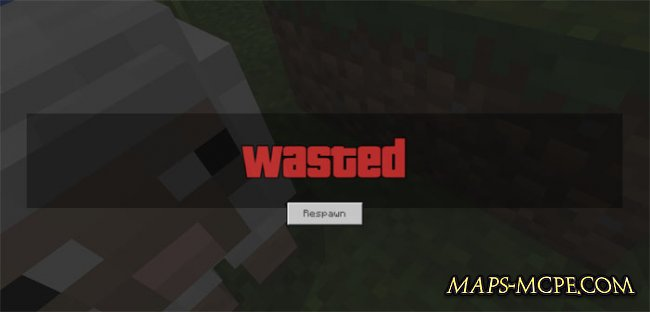 Текстуры GTA Wasted Screen 1.4/1.3