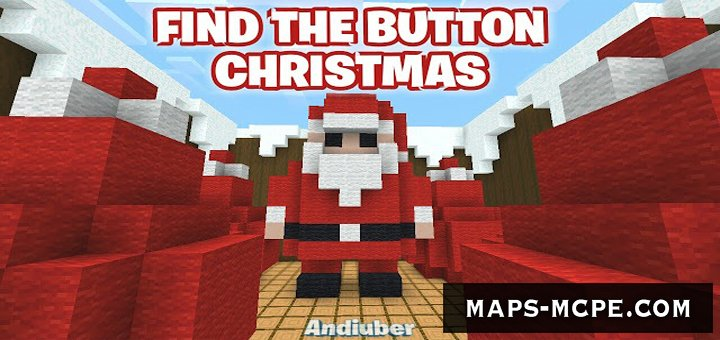 Карта Find The Button Christmas [Головоломка]