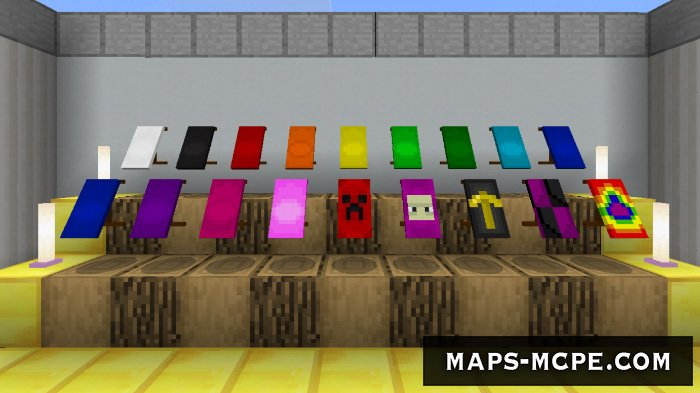 Мод Wearable Cape Banners v2.0 1.8