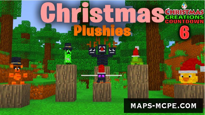 Текстуры SG Plushies XMas Version 1.8