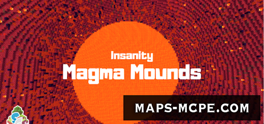Карта SG Insanity: Magma Mounds [Выживание]