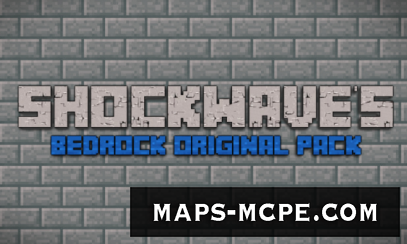 Текстуры Shockwave's Bedrock Original 1.10+ [16x16]