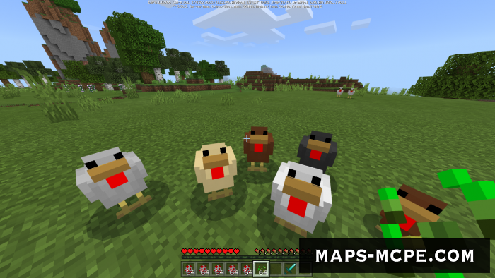 Мод More Chickens 1.12