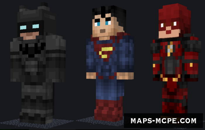 Мод Justice League PE Evolve 1.12