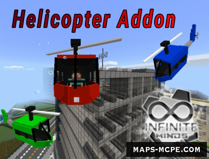 Мод Helicopter 1.10+