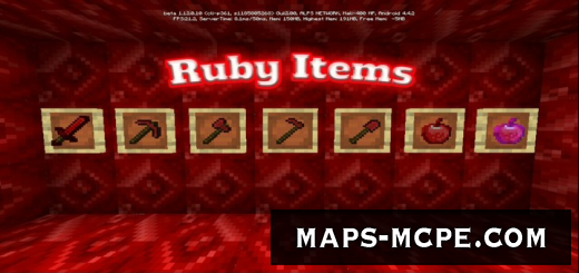 Мод Ruby Items 1.12
