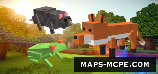 Мод New Mobs: New Pets 1.9+