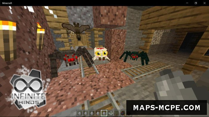 Мод More Spiders 1.13