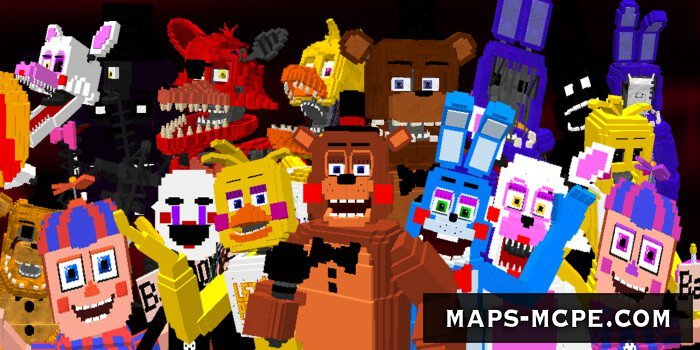 Мод Five Nights at Freddy´s 2 Animatronics 1.13