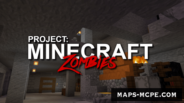Карта Project: Minecraft Zombies [Мини игра]