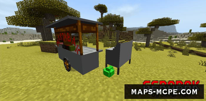 Мод Update Indonesian Food Cart [1.16]