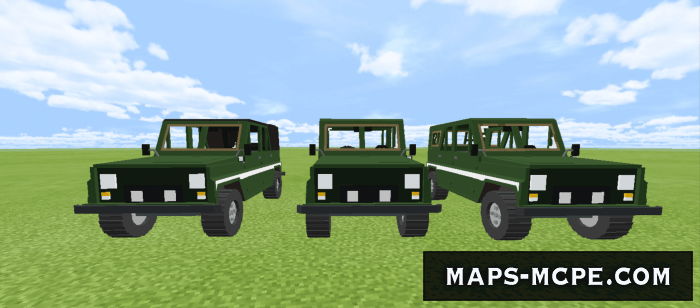 Мод PUBG Vehicles 1.16