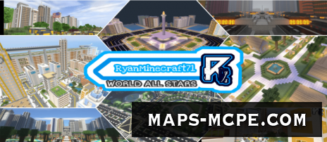 Карта RyanMinecraft71: World All Stars [Выживание]